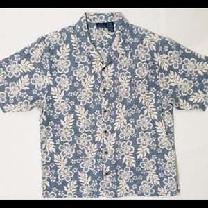 OP SPORT HAWAIIAN FLORAL BUTTON DOWN SHIRT. NWOT.